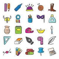 naaien en kunstelementen