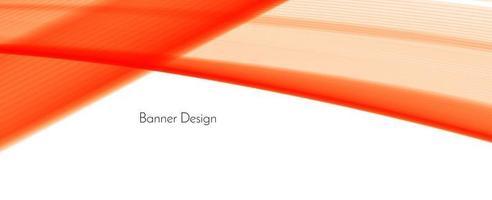 abstracte rode moderne decoratieve stijlvolle golf banner achtergrond vector