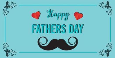 gelukkige vaderdag banner vector