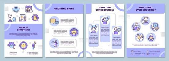 wat is ghosting brochuremalplaatje