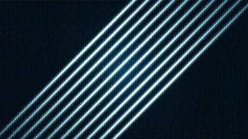 toekomstige lichte technische achtergrond vector