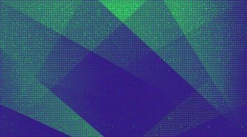groene en violette technische achtergrond vector