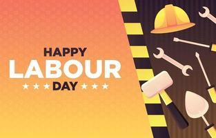 dag van de arbeid achtergrond vector