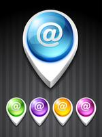 e-mailpictogram vector