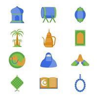 eenvoudige ramadan kareems-sjabloon vector