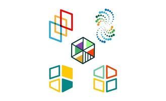 onderwijs, afgestudeerde logo abstracte sjabloon vectorillustratie vector
