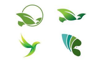 vogels duif duif logo sjabloon vector illustratie pictogram element geïsoleerd