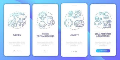 wereldwijde voorraadproblemen op het scherm van de mobiele app-pagina met concepten