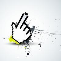 hand muis vector