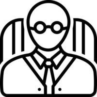 lijnpictogram voor opdrachtgever