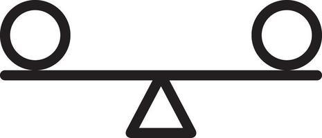 lijnpictogram voor equa