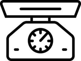 lijn pictogram voor schaal