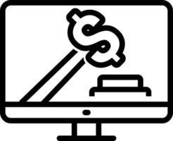 lijnpictogram voor bod