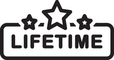 lijn pictogram voor het leven