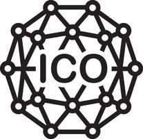 lijnpictogram voor ico vector