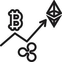lijn pictogram voor handel