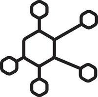 lijnpictogram voor netwerk