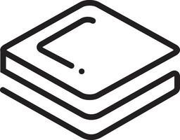 lijnpictogram voor stratis-munt