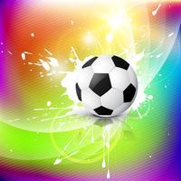 vector voetbal ontwerp
