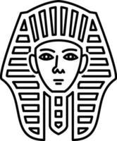lijnpictogram voor Egyptisch