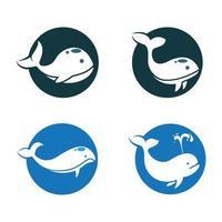 walvis logo afbeeldingen illustratie