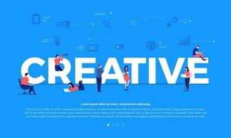 teamwork bouwen creatief vector