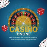 vectorillustratie van casino vector