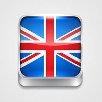 vlag van het Verenigd Koninkrijk vector