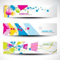 abstracte header set