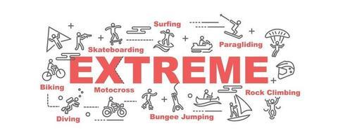 extreme vectorbanner
