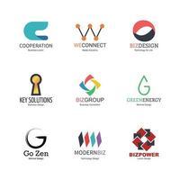 abstract logo ontwerp vector