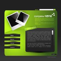 websjabloon vector