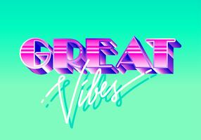 Vintage typografie vector