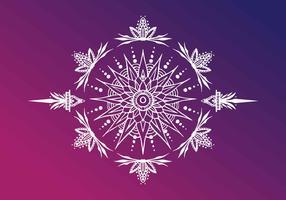 Henna Art vectorillustratie vector