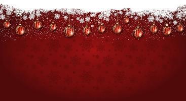 Kerstmis achtergrond met groot scherm vector