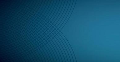abstracte donkerblauwe achtergrond, veel gebogen lijnen - vector