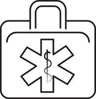 lijnpictogram voor ems