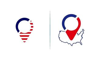 pin locatie logo vector sjabloonontwerp