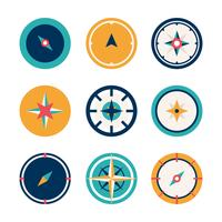 Kompas vectorillustratie