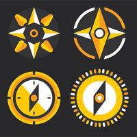kompas verzameling vector