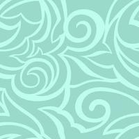vectortextuur van turkooise kleur die op overzeese achtergrond wordt geïsoleerd. bloemmotief voor stoffen of verpakkingen.