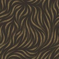 vector naadloze textuur van moeras kleur van vloeiende lijnen in de vorm van penseelstreken op een donkere achtergrond.