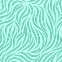 vector naadloze textuur van vloeiende lijnen op een blauwe achtergrond. sjabloon voor afdrukken op stof of inpakpapier.