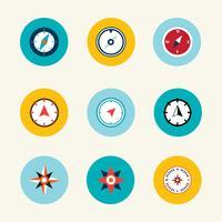 kompas vector collectie