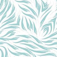blauwe naadloze patroon van vloeiende lijnen achtergrond voor het decoreren van stoffen en inpakpapier abstracte textuur.