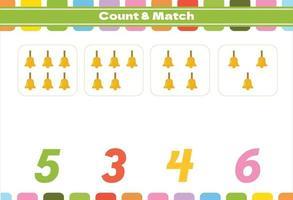 tellen spel voor voorschoolse kinderen