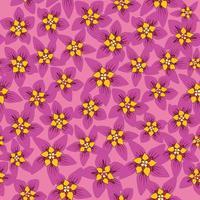 naadloze bloemmotief. bloem achtergrond. bloemen naadloze textuur met bloemen. bloeien betegeld behang vector