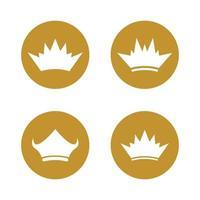 kroon logo sjabloon vector pictogram