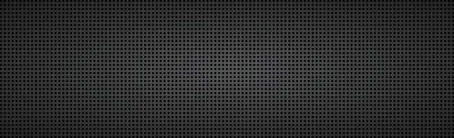 zwarte geperforeerde achtergrond met zwarte gaten en gloed vector