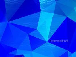 abstracte kleurrijke driehoekige geometrische kristalachtergrond vector